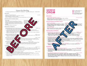 easy makeover tips to make visually appealing resume