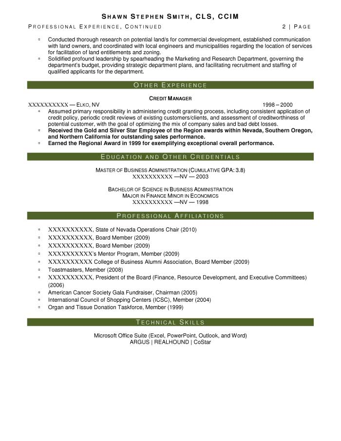 commercial real estate portfolio manager resume sample after 2 - Real Estate Manager Resume