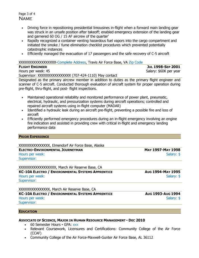 Supervisory Human Resources Specialist Resume Sample - After-3