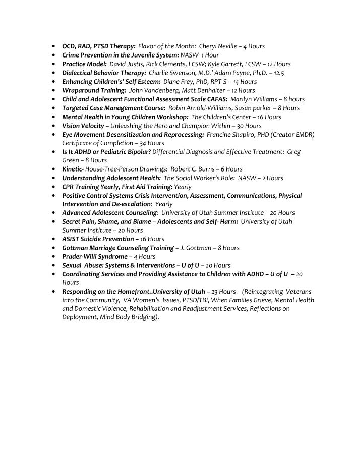 Social Worker | Critical Time Intervention Case Manager Resume Sample - Before-6
