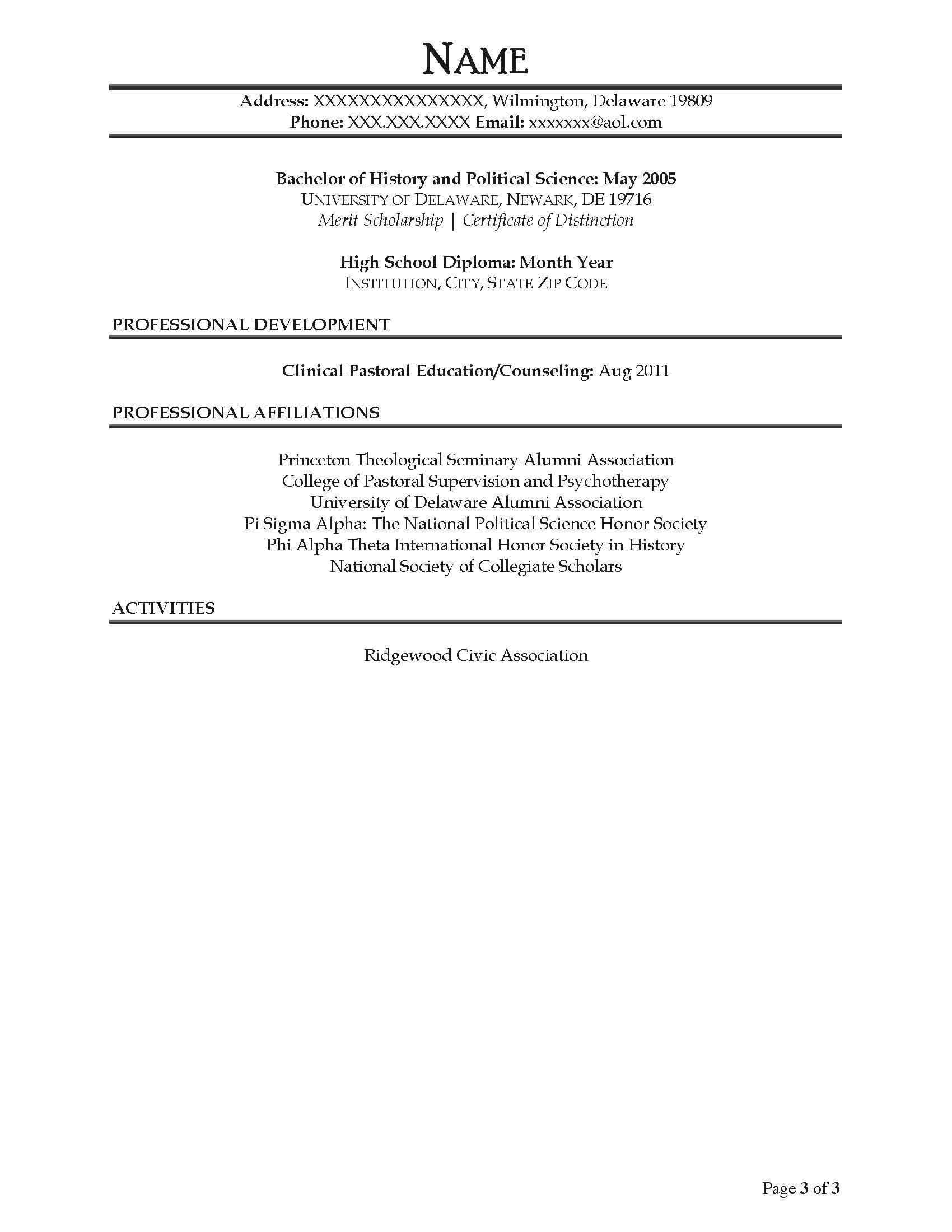 Case Administrator Resume Sample - After-3