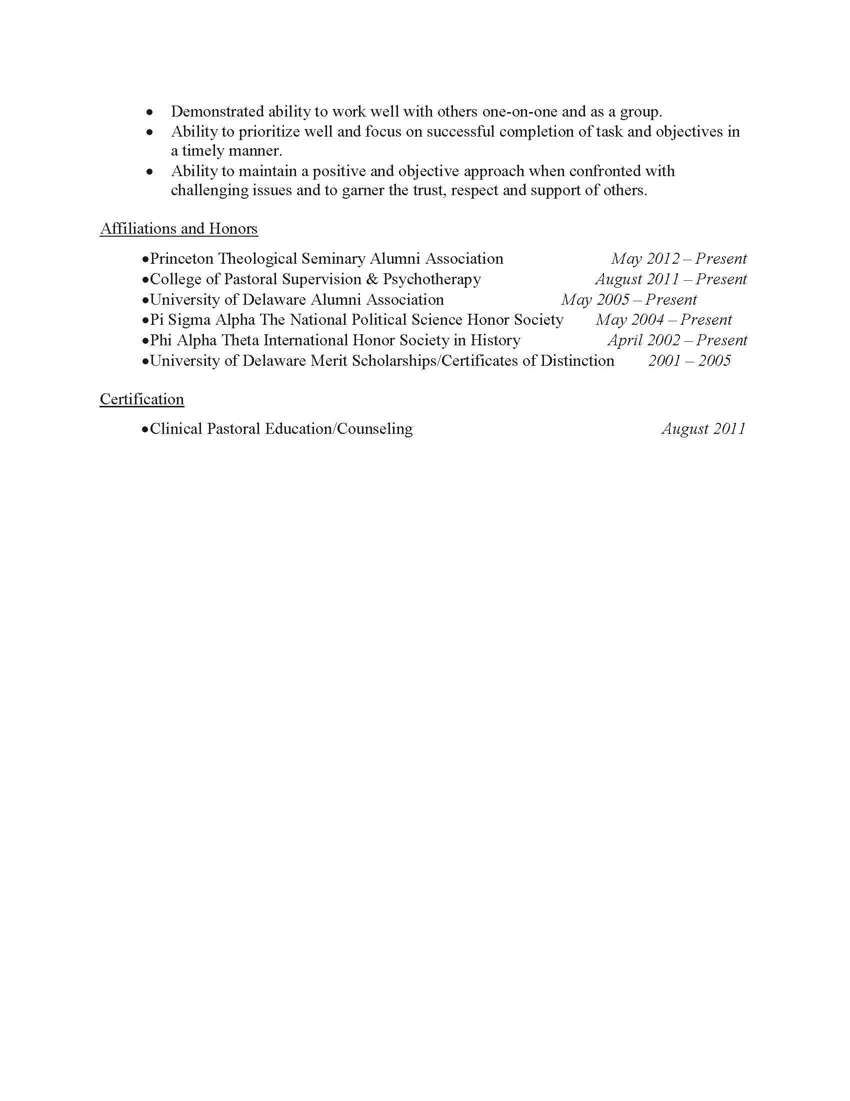 Case Administrator Resume Sample - Before-2