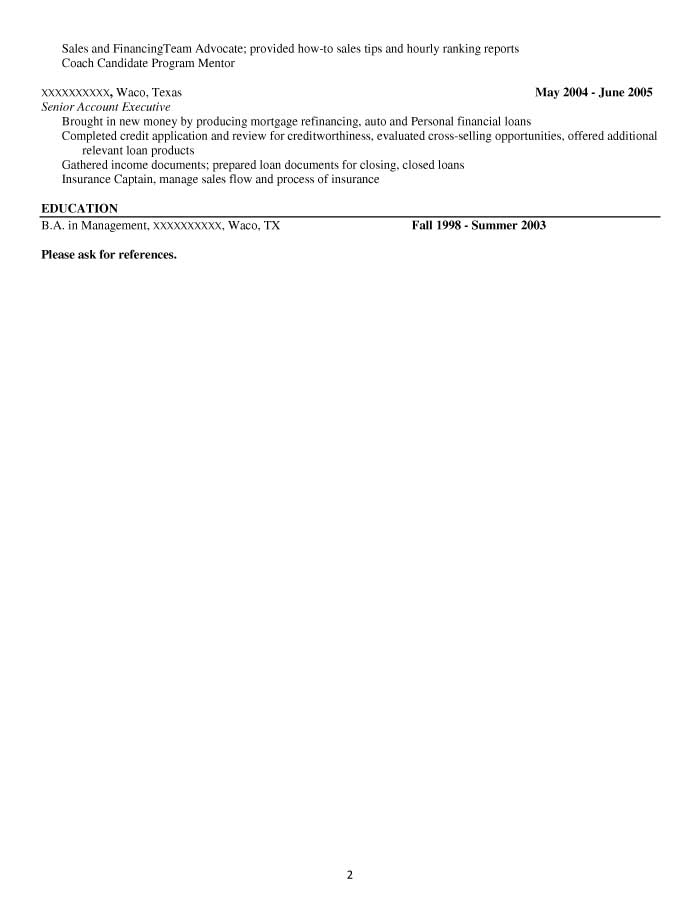 Administrative Assistant Resume Sample - Before-2