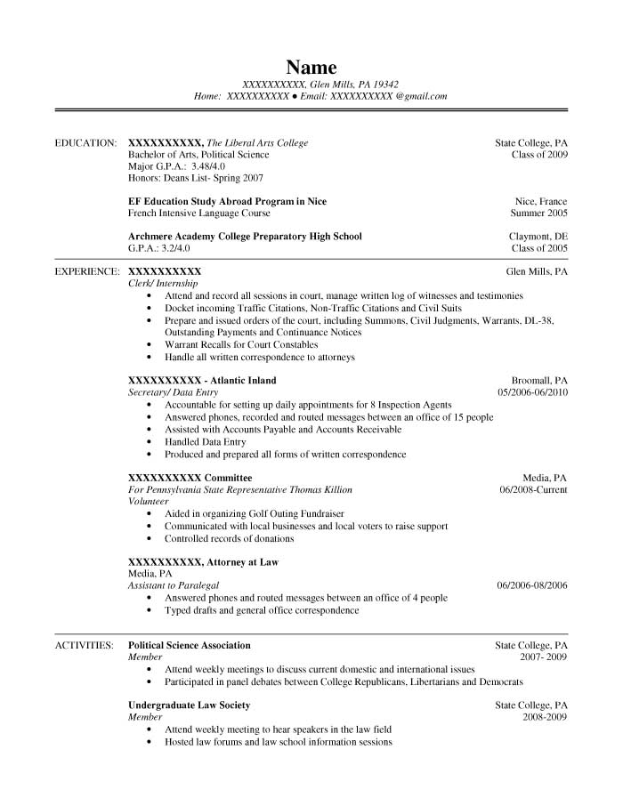 resume bachelor of science april onthemarch co