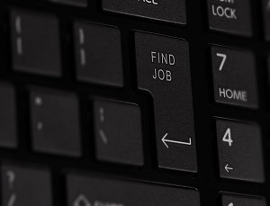 Keyboard with find job button