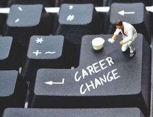computer key: career change mistakes