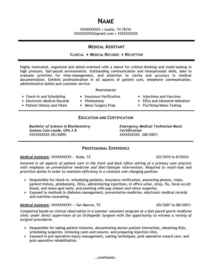 Bachelor of Science in Biochemistry, Minor in Biology Resume Sample - Before